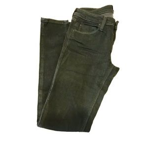 Just Black Olive Jean Style Pants